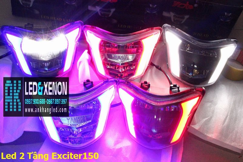 Pha Led 2 Tầng V8 Racing (Yoto)
